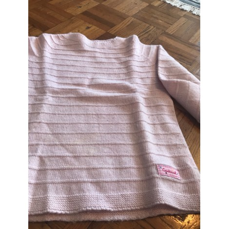Pull COUDÉMAIL Rose, fuschia, vieux rose
