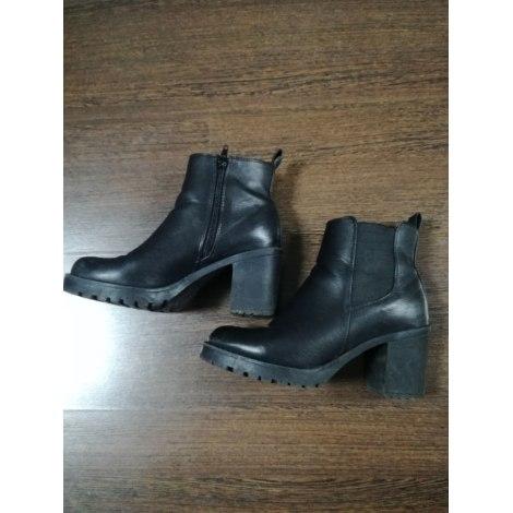 Bottines & low boots à talons ERAM Noir