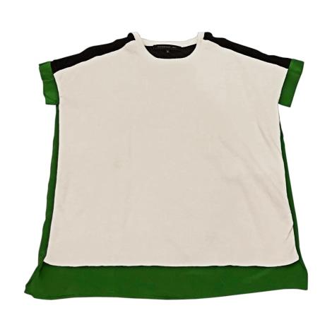 Blouse BARBARA BUI Blanc vert et noir