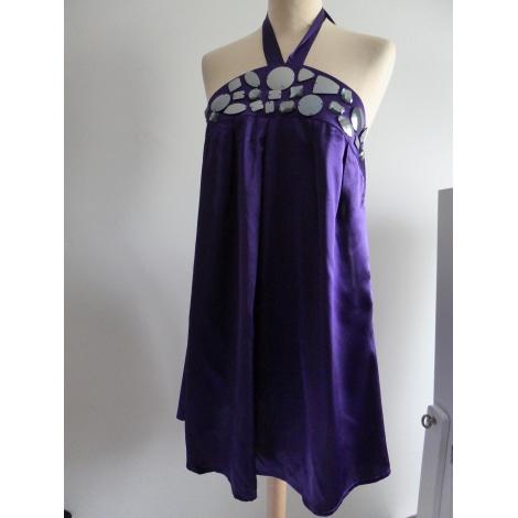 Robe dos nu 3 SUISSES Violet, mauve, lavande