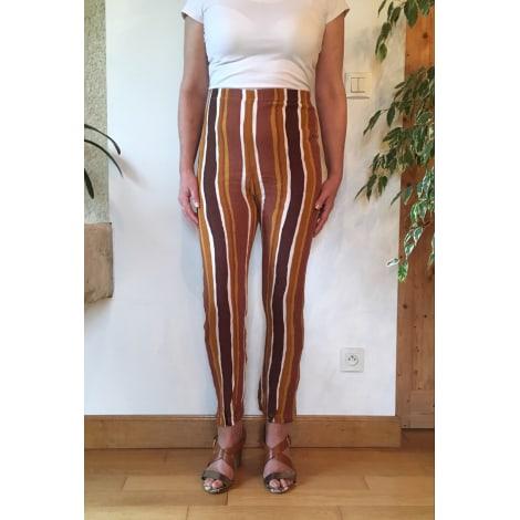 Pantalon slim, cigarette VINTAGE Beige, camel