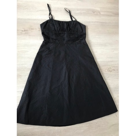 Robe mi-longue MANGO Noir