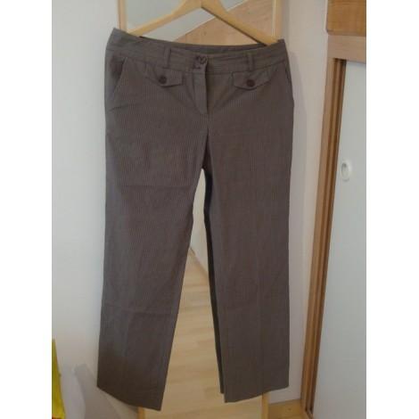 Pantalon droit NAF NAF Gris, anthracite