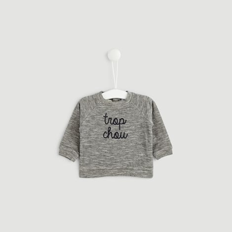 Sweatshirt BOUT'CHOU Gray, charcoal