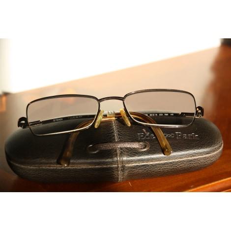 Monture de lunettes FENDI Marron