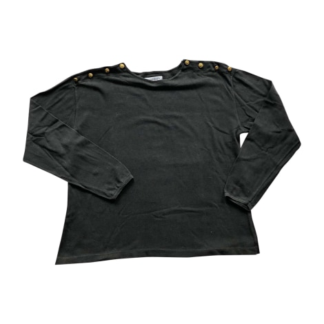 Top, tee-shirt SAINT LAURENT Noir