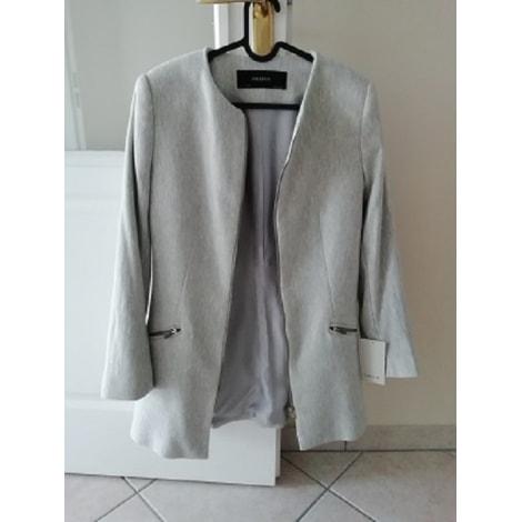 Blazer, veste tailleur ZARA Blanc, blanc cassé, écru