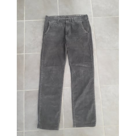 Pantalon slim TOMMY HILFIGER Gris, anthracite
