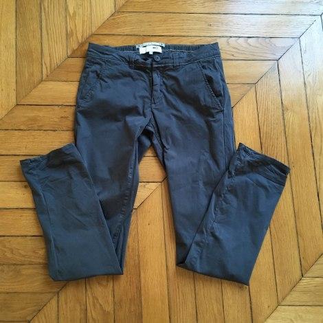 Pantalon droit MKT Bleu, bleu marine, bleu turquoise