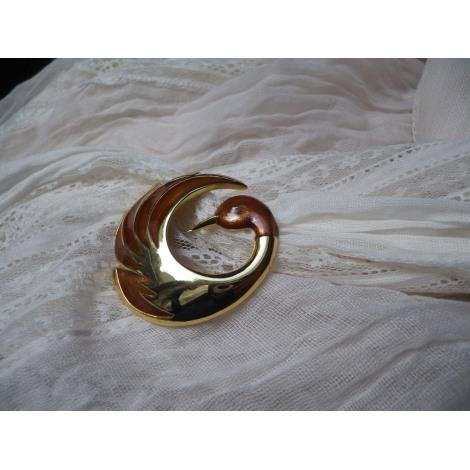 Broche ORENA Doré, bronze, cuivre