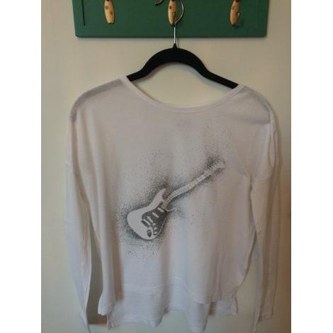 Top, Tee-shirt SWILDENS Blanc, blanc cassé, écru