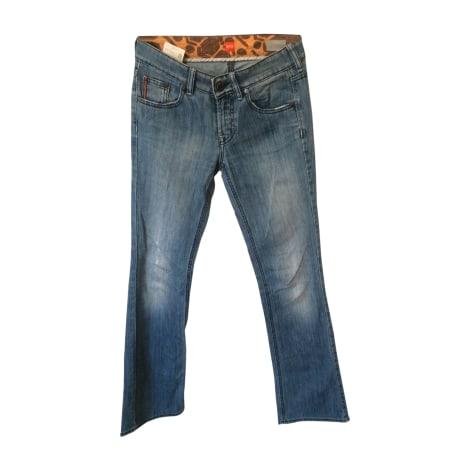 Jeans évasé, boot-cut HUGO BOSS Blanc, blanc cassé, écru