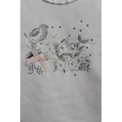 Top, tee shirt TARTINE ET CHOCOLAT Blanc, blanc cassé, écru