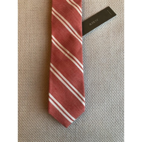 Cravate J CREW Rouge, bordeaux