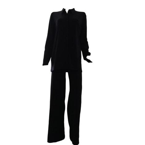 Tailleur pantalon MARITHÉ ET FRANÇOIS GIRBAUD Noir