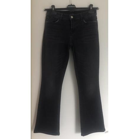 Jeans évasé, boot-cut J BRAND Gris, anthracite