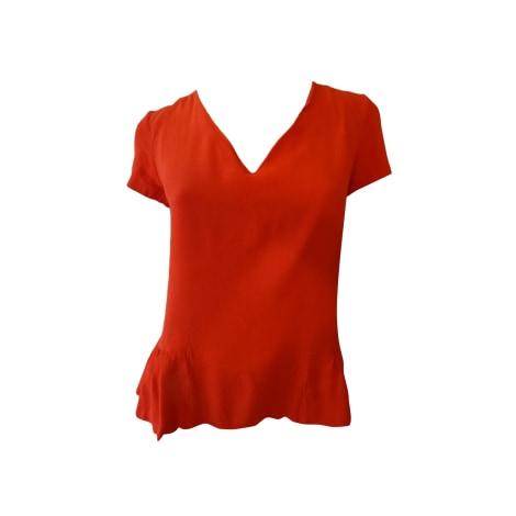 Top, tee-shirt SANDRO Orange