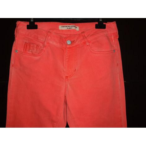Jeans slim COMPTOIR DES COTONNIERS Rose, fuschia, vieux rose