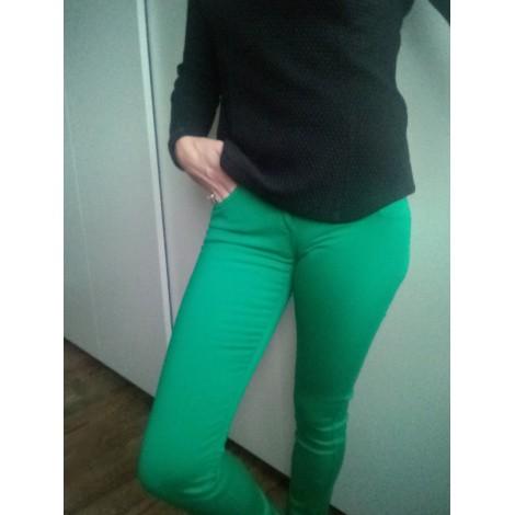 Pantalon slim, cigarette COP-COPINE Vert