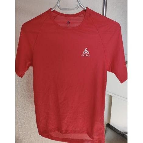 Top, tee-shirt ODLO Rouge, bordeaux