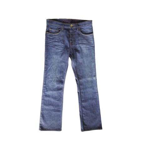 Jeans évasé, boot-cut TOMMY HILFIGER Bleu, bleu marine, bleu turquoise