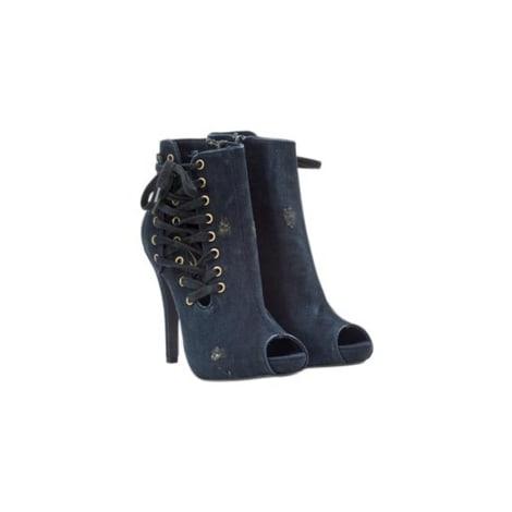 Bottines & low boots à talons ASH Bleu, bleu marine, bleu turquoise