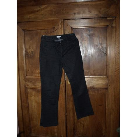 Pantalon évasé 1.2.3 Noir