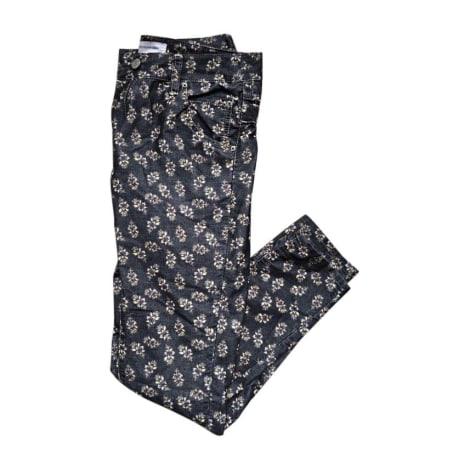 Pantalon slim, cigarette ISABEL MARANT ETOILE Gris, anthracite