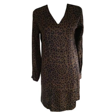 Robe tunique SWILDENS Marron