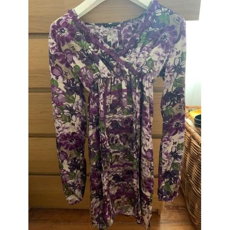 Robe SISLEY Violet, mauve, lavande
