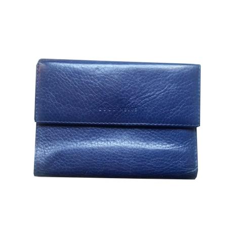 Portefeuille COCCINELLE Bleu, bleu marine, bleu turquoise