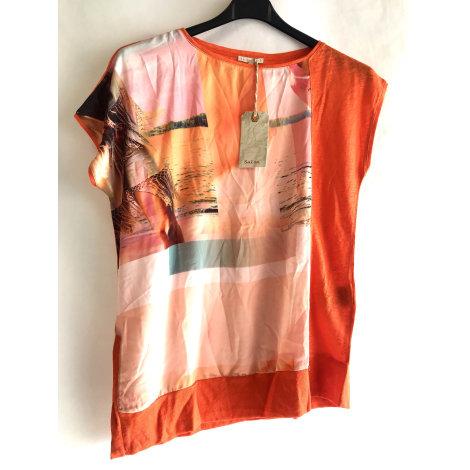 Top, tee-shirt SALSA Orange
