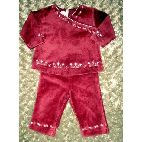 Ensemble & Combinaison pantalon H&M Rouge, bordeaux