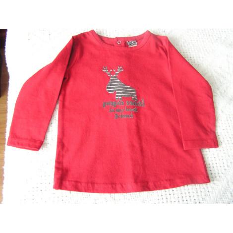 Top, T-shirt TAPE À L'OEIL Red, burgundy