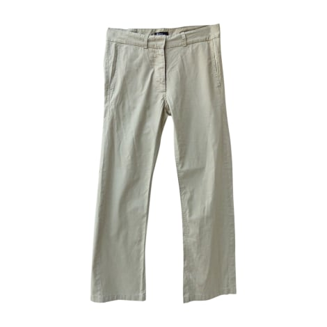 Pantalon droit ISABEL MARANT ETOILE Beige, camel