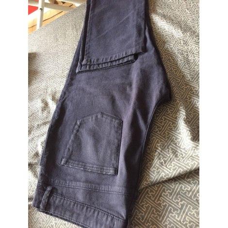 Pantalon droit AMERICAN VINTAGE Bleu, bleu marine, bleu turquoise