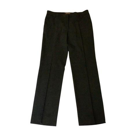 Pantalon droit ROBERTO CAVALLI Noir