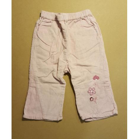 Pantalon NATALYS Rose, fuschia, vieux rose