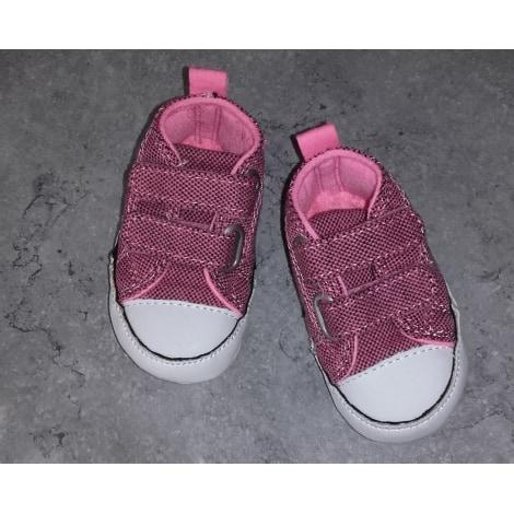 Sneakers CONVERSE Rose/noir