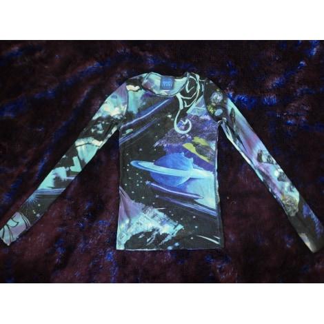Top, tee-shirt KENZO Bleu, bleu marine, bleu turquoise