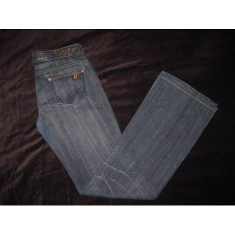 Jeans évasé, boot-cut NOTIFY Bleu, bleu marine, bleu turquoise