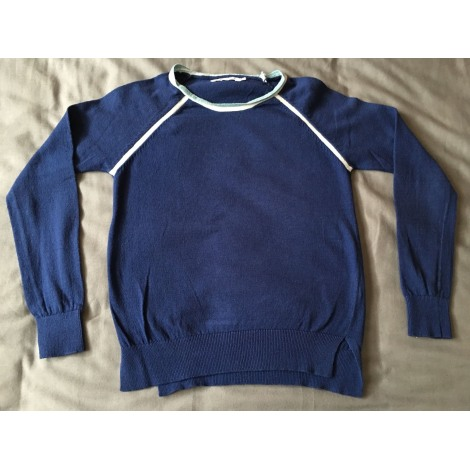 Pull MONOPRIX Bleu, bleu marine, bleu turquoise