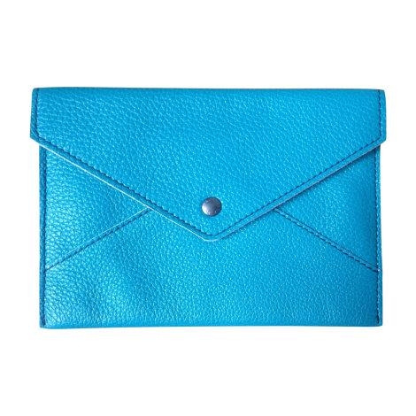 Porte document, serviette DOLCE & GABBANA Bleu, bleu marine, bleu turquoise