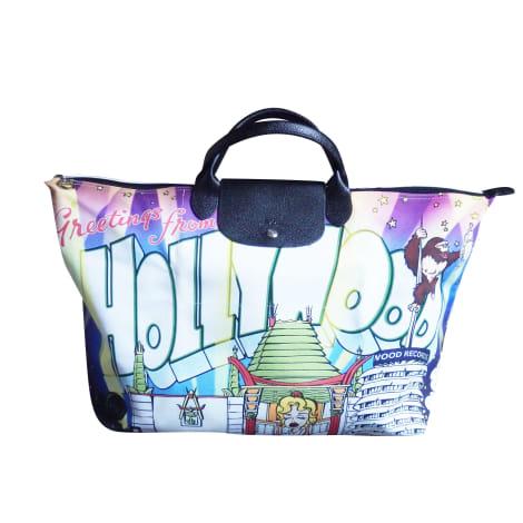 Non-Leather Oversize Bag LONGCHAMP Pliage Multicolor