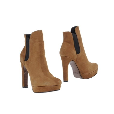 Bottines & low boots à talons LOLA CRUZ Beige, camel