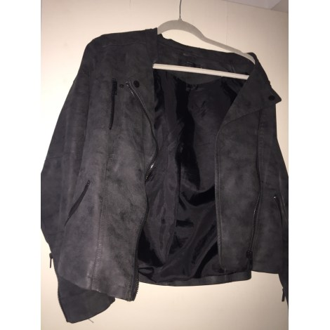 Blouson ONLY Gris, anthracite