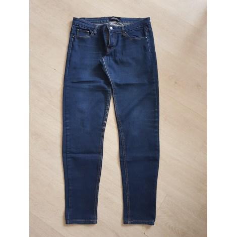 Jeans slim MISS ANNA Bleu, bleu marine, bleu turquoise