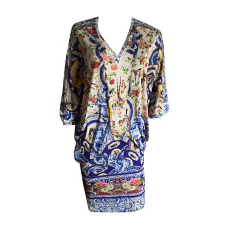 Robe courte ROBERTO CAVALLI Multicouleur