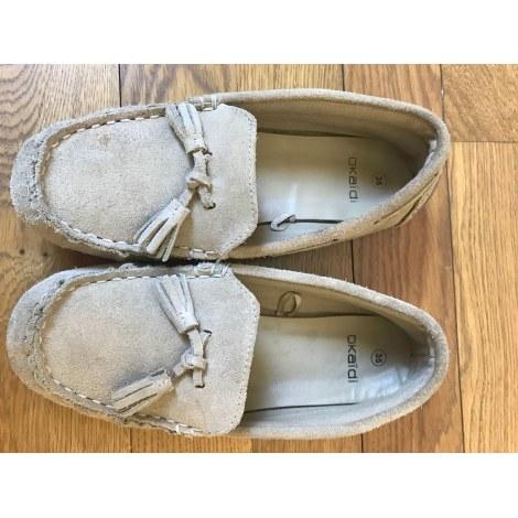 Loafers OKAÏDI Beige, camel
