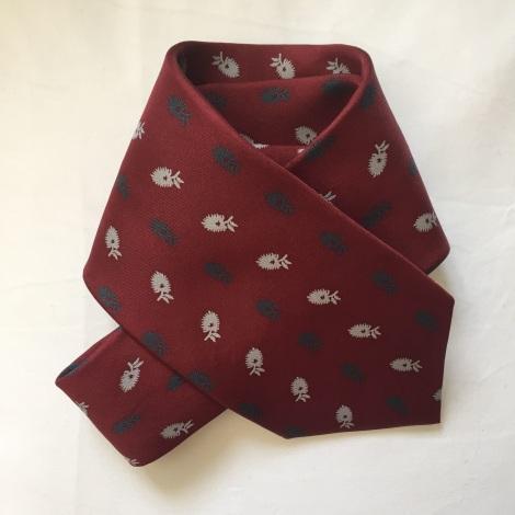 Cravate CELIO Rouge, bordeaux